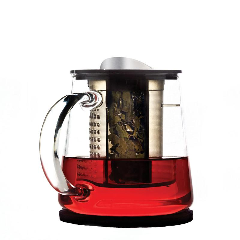 Patented tea brewer with brew-control - Tea Brewers