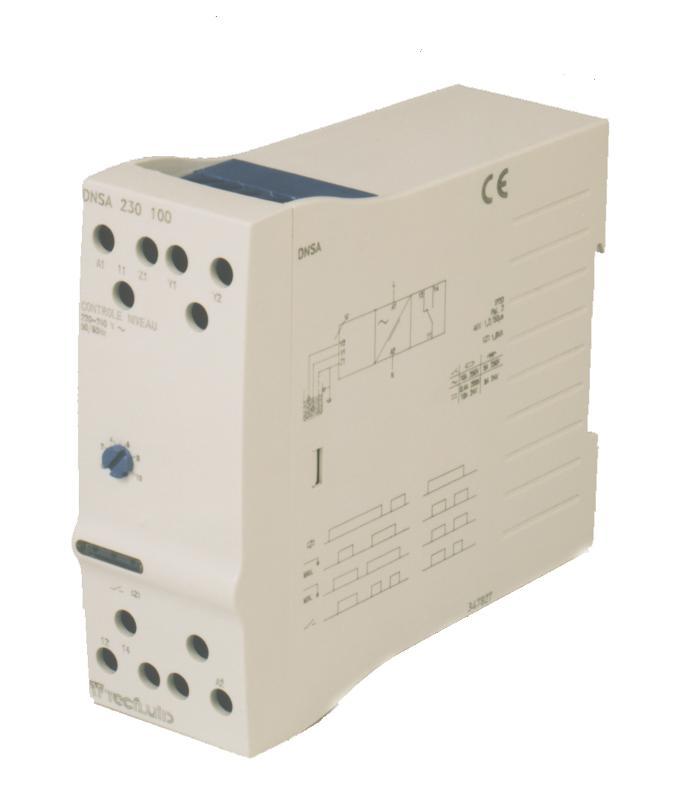 Détecteur de niveau résistif séries NRC / NTBA / NTBI / NB - null