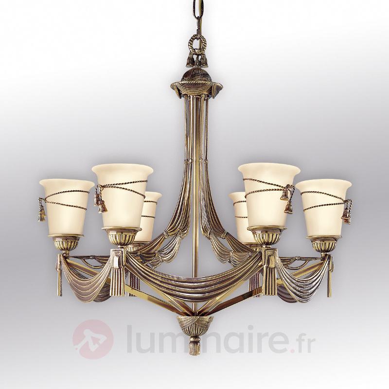 Lustre à 6 lampes Scala - Lustres classiques,antiques
