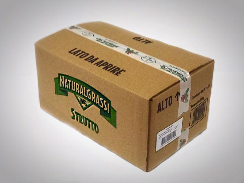 Strutto in Cartone 25 Kg - Salumi latticini e uova - Lardo e strutto