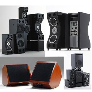 Enceintes audio haut gamme