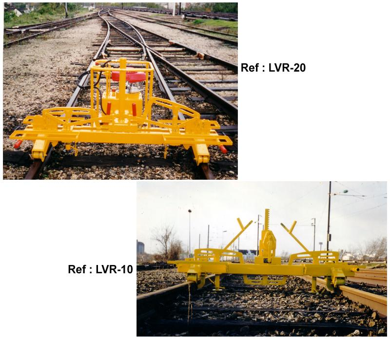 Machines for Track Works - Rail-Lifting Machines