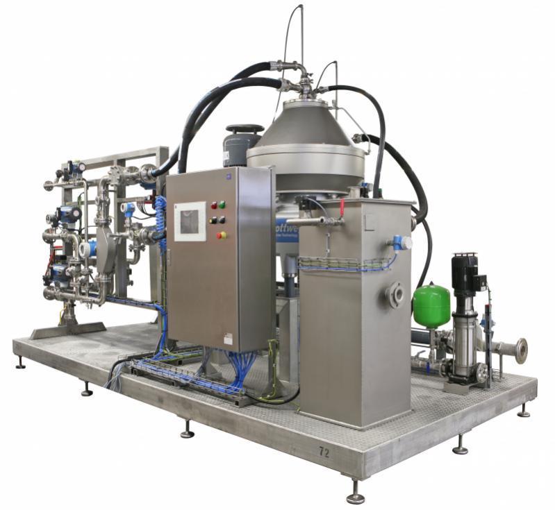 Separador - Separador Flottweg para la separación mecánica y la clarificación de líquidos