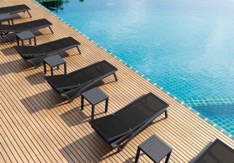 Bain De Soleil Costa - Chaise Longue - Mobilier De Terrasse