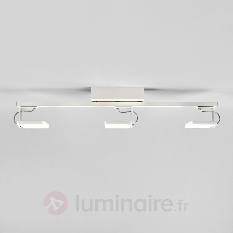 Plafonnier LED Kena à trois spots, variable - Plafonniers LED