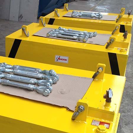 Aimants de suspension électromagnétiques ASAP - Systèmes de déferrisation