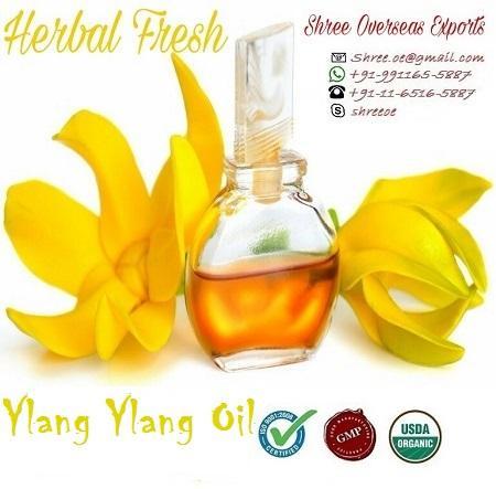 Organic Ylang Ylang Oil - USDA Organic