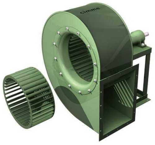 Gfb - Ventilateur Basse Pression Type Gfb - Transmission Poulie Courroie - null