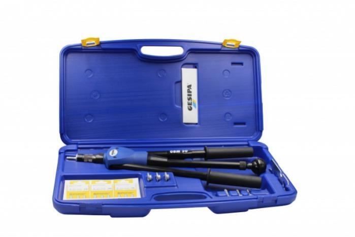 GBM 50 (Remachadora manual para tuercas remachables) - Remachadora de tuercas manual