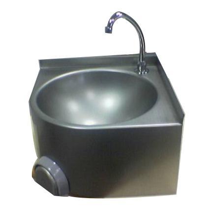 LAVAMANI AD ANGOLO INOX cod. 4299 - Pattumiere - Carrelli - Lavamani - Tramogge in acciaio inox