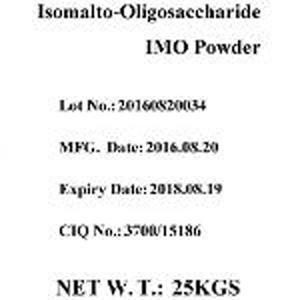 Isomaltooligosacárido (IMO) - 500 en polvo - Blanco, sólido, el contenido es el 50%