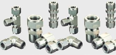 Stainless Steel Tube Fittings  - Stainless Steel Compression Tube Fittings - Instrumentation Tube Fittings