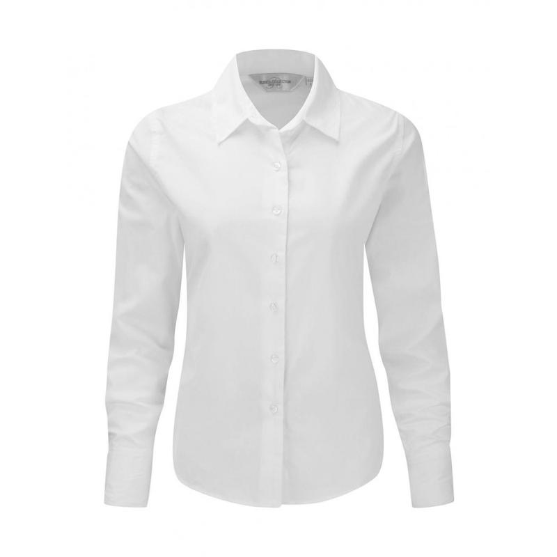 Chemise manches longues Classic Twill - Femme