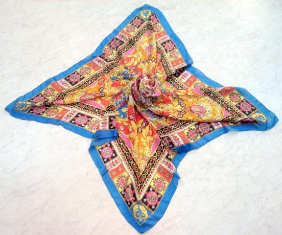 Silk Crepe Scarves - Silk Crepe Scarves