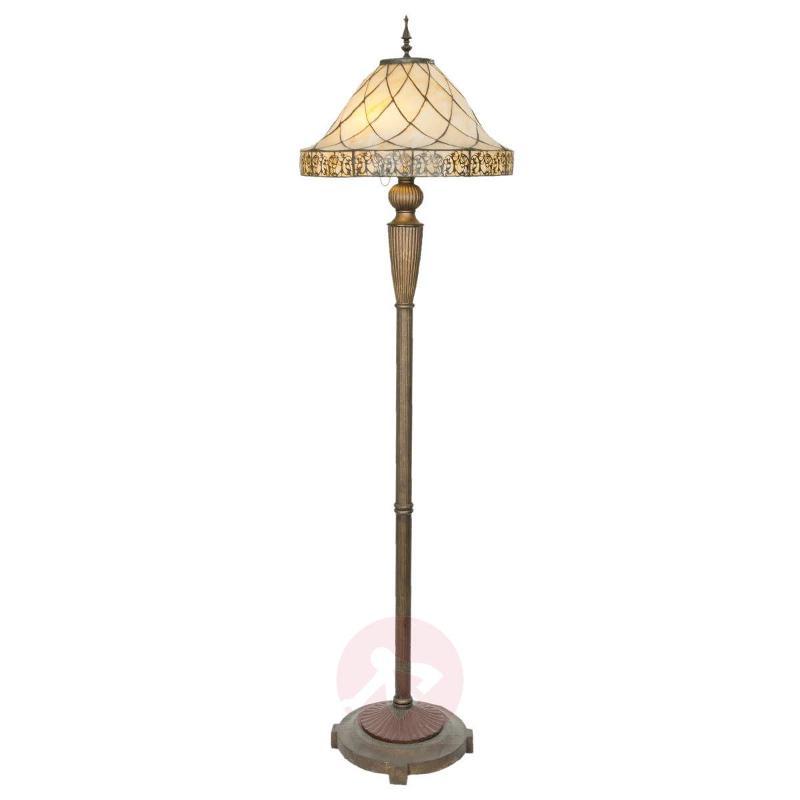 Decorative floor lamp Diamond, Tiffany lampshade - Floor Lamps