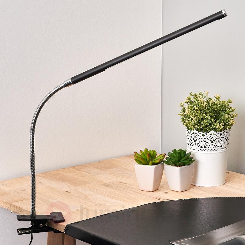 Lampe à poser flexible LED Clip - Lampes de bureau LED