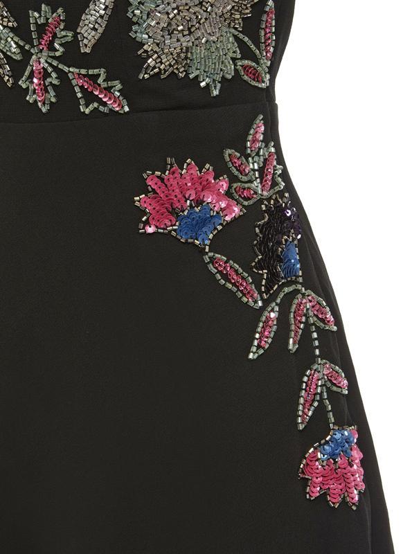 Sequin Beads Embellished Skater Dress - Girl Dresses - Manufacturer, Exporter & Suppliers