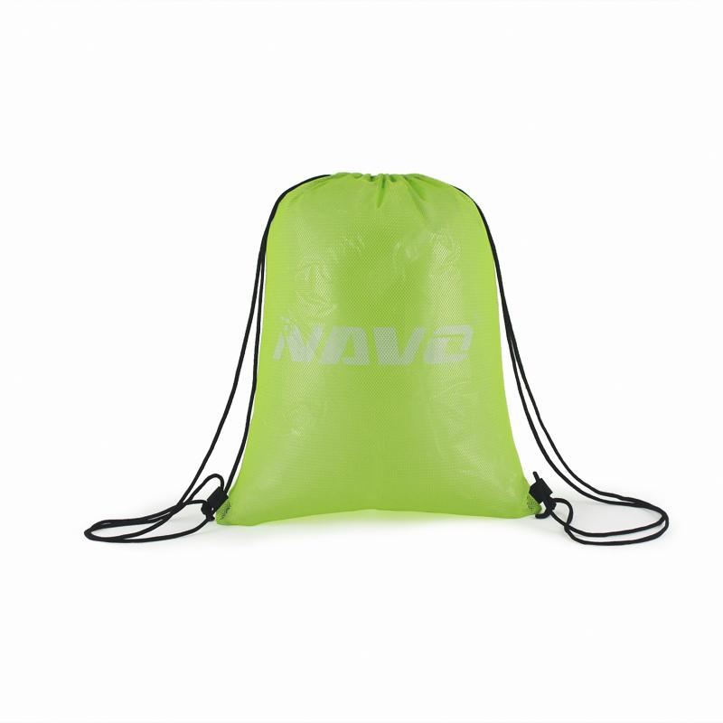 Breathable mesh drawstring backpack