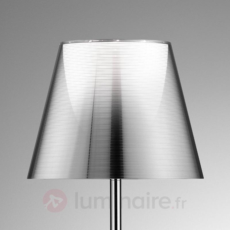 Bibliothèque Nationale lampadaire, alu, argenté - Lampadaires design