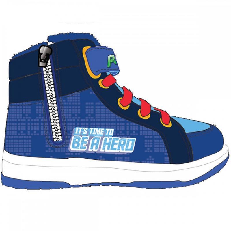 16x Baskets hautes avec boites PJ Masks du 25 au 32 - Chaussures