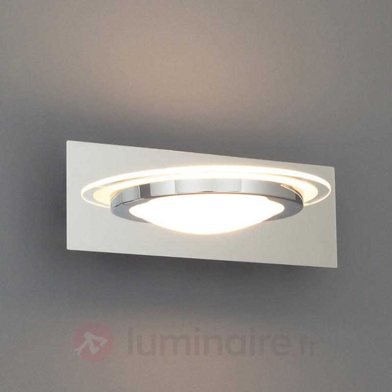 Applique LED en verre Kathleen - Appliques LED