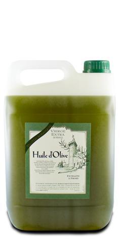 Huile d'Olive Vierge Extra de France 5L - Produits oléicoles
