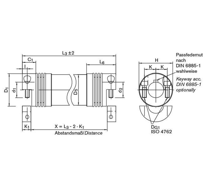 Line Shaft GWZ 5106 - GERWAH