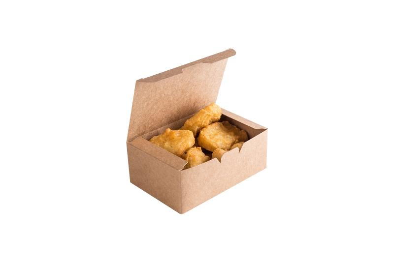 Nugget Box «Pure Kraft» - Kraft-kraft box for nuggets, french fries and onion rings