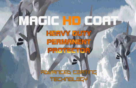 MAGIC HD COAT  - Heavy Duty Permanent Protector For Industrial Application