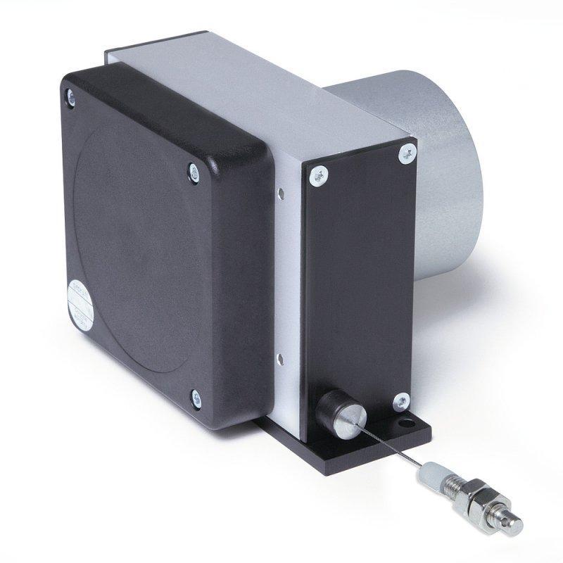 Wire-actuated encoder SG62 - Wire-actuated encoder SG62, robust design and redundant sensor system
