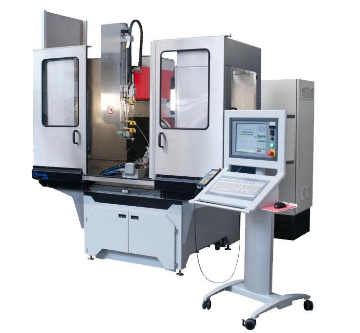 APos 800 CNC Hochgeschwindigkeits-Erodierbohrmaschine