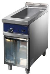 Cooking line 700 First Choice - BAIN-MARIE GAS GN1/1 H=150 OPEN CABINET