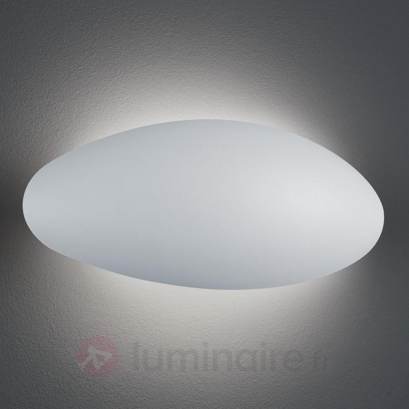 Applique d'extérieur LED arrondie Missouri, blanc - Appliques d'extérieur LED