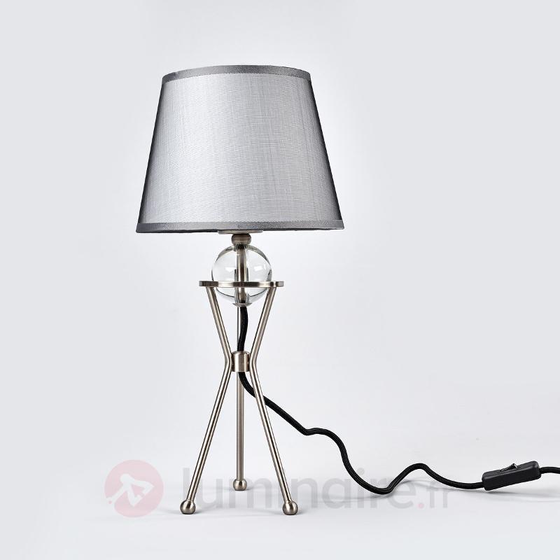 Lampe à poser orientable Zsa - Lampes à poser en tissu