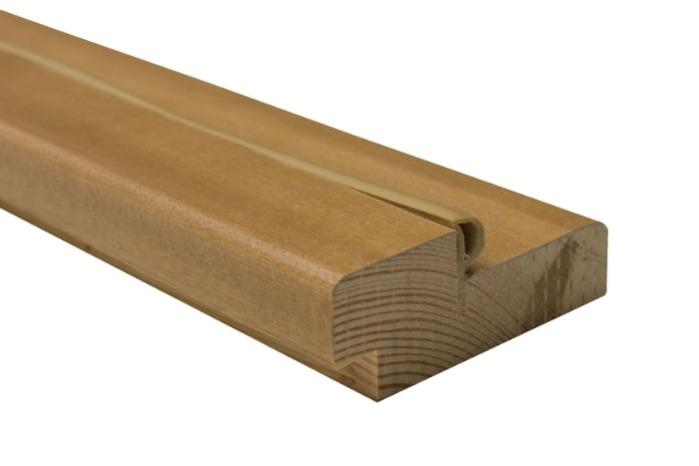 Дверная коробка и наличник сосна, шпон. - Дверная коробка для межкомнатных дверей .