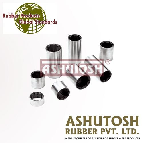 Metal Backed Rubber Bushes -