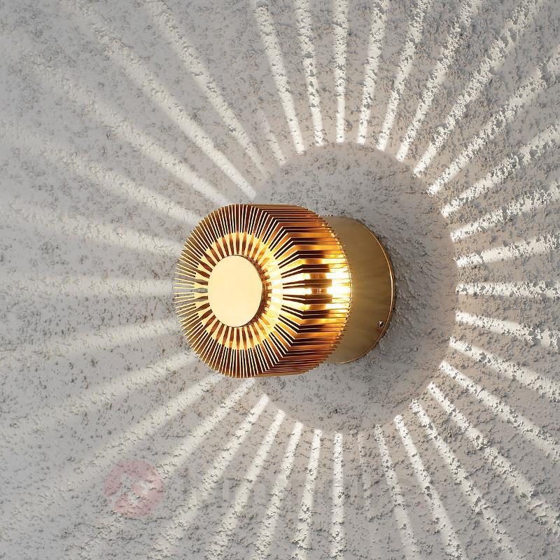 Applique d'extérieur LED de couleur bronze Monza - Appliques d'extérieur LED