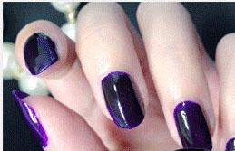 Cosmetics - Purple grapes Color Nail polish