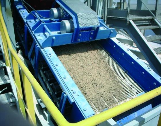 Tamiseur vibrant - Environnement et recyclage