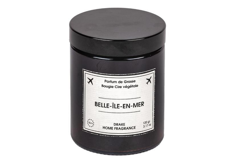 BOUGIE PARFUMÉE - BELLE ÎLE EN MER - Bougies Travel 100% végétales