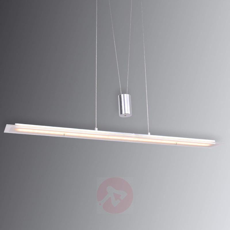 Height-adjustable - LED pendant lamp Malak - indoor-lighting
