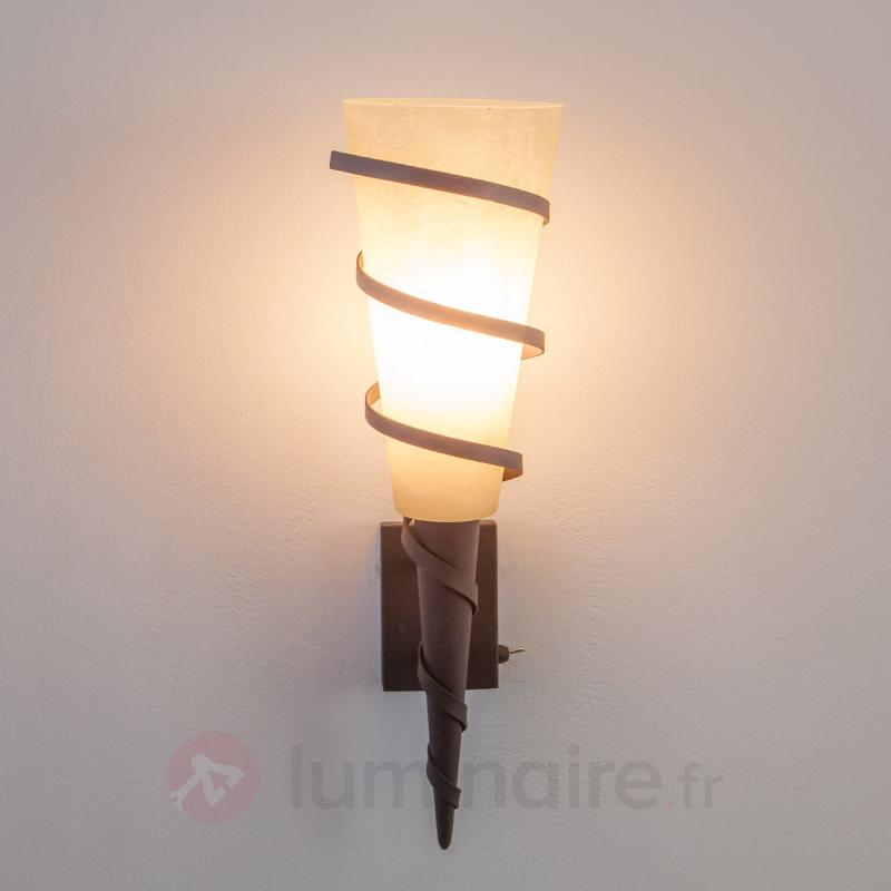 Torche murale LED Rusty - Torches murales