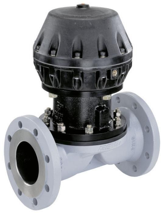 Pneumatisch betätigtes Membranventil GEMÜ 620 - Das 2/2-Wege-Membranventil GEMÜ 620 wird pneumatisch betätigt.