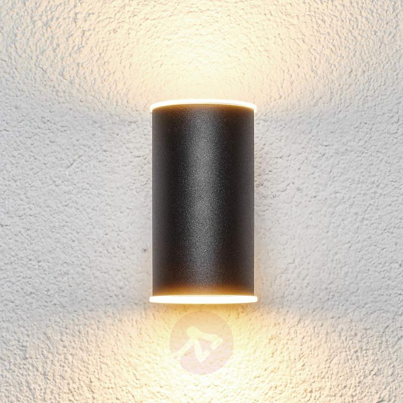 Effective Morena LED outdoor wall light - stainless-steel-outdoor-wall-lights