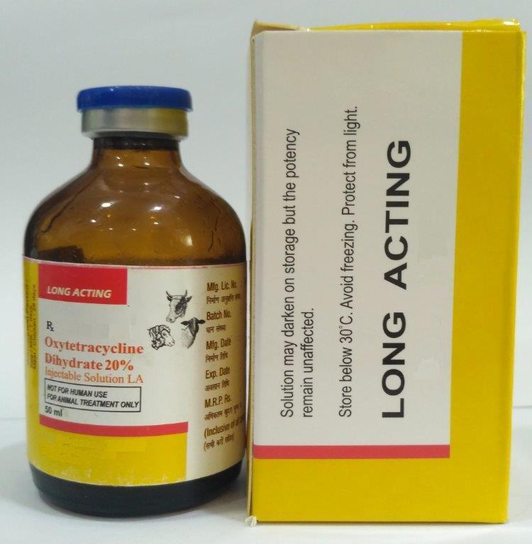 Veterinary Oxytetracycline Injection - Veterinary Oxytetracycline Injection 20%