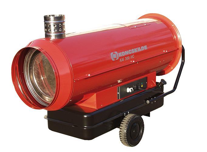 Appareils de chauffage fioul combustion indirecte - KAI HC - Chauffage - Génerateurs à air chaud