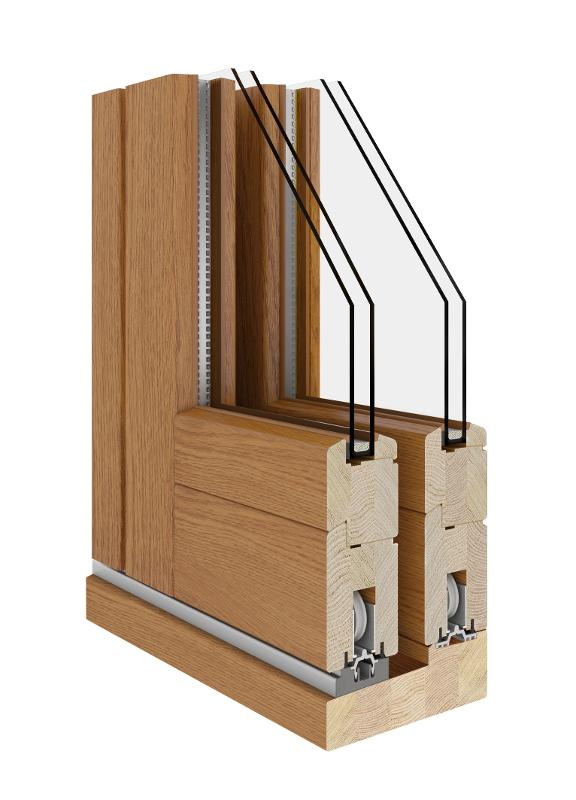 HS (Wooden Sliding Door 68|78|92) - HS Lift & Sliding Patio Wooden Door