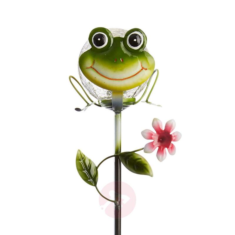Attractive solar ground spike light Sicily Frog - Decorative Solar Lights