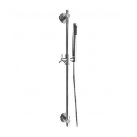 Saliscendi con doccia ottone e flessibile doppia... - saliscendi / ART.4170