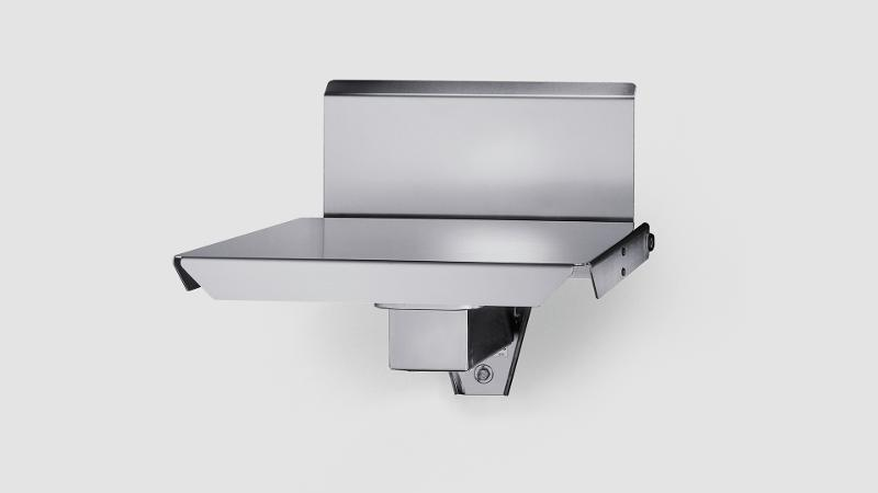 iL Special 150T/SP - Wall mounted scale with folding table